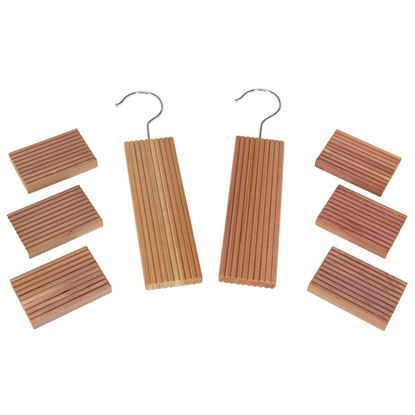 Picture of HUJI Aromatic Cedar Hang Ups and Cedar Blocks - HJ121_2PK