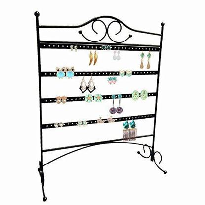 Picture of HUJI Durable Steel Jewelry Organizer/ Hanger for Earrings Display - HJ096