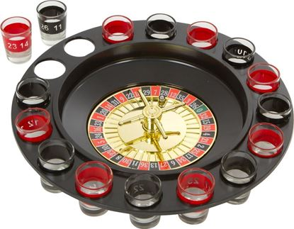Picture of HUJI Roulette Glass Shots Drinking Game Fun Adult Party Gift - HJ315
