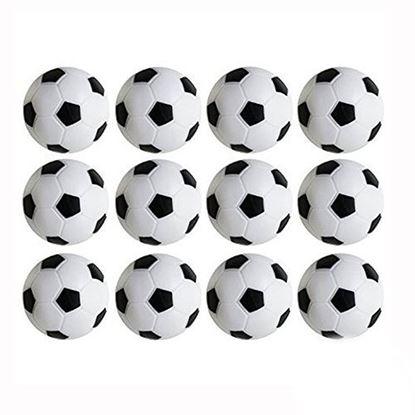 Picture of HUJI High Quality Foosballs Replacement Mini Soccer Balls - HJ141_12PK