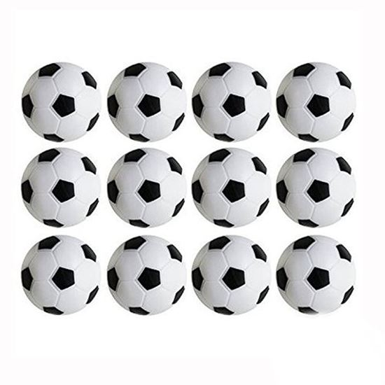Picture of HUJI High Quality Foosballs Replacement Mini Soccer Balls - HJ141_12PK