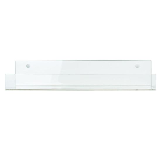 Picture of HUJI Clear Invisible Floating Acrylic Shelves  (1, 16 Inch) - HJ356_1PK
