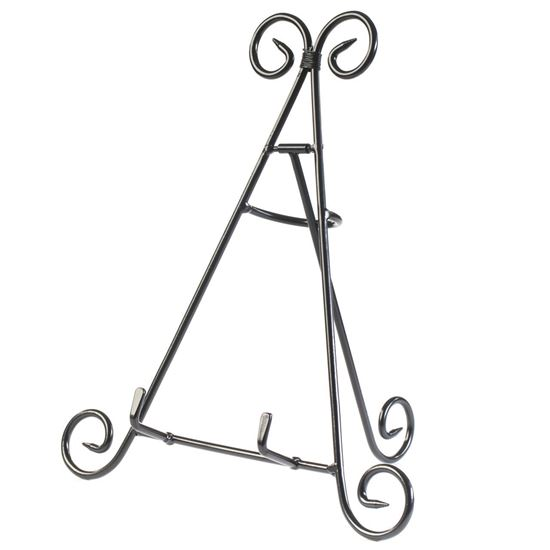 """Picture of HUJI 12"""" Iron Display Stand Holder for Home Kitchen Decoration - HJ274"""