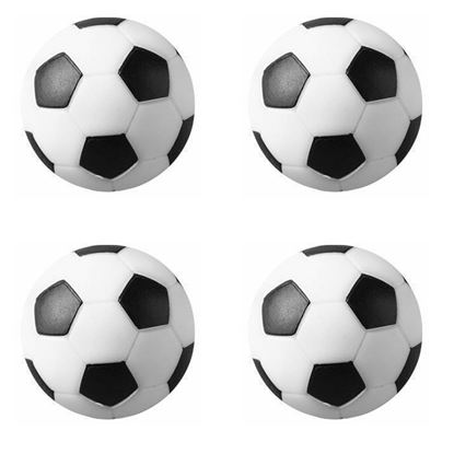 Picture of HUJI Foosballs Replacement Mini Soccer Balls(4 PACK) - HJ141_4PK