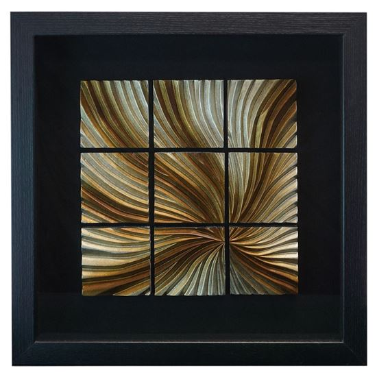 """Picture of Zen Sand Wall Décor (MS24636A) 15.75"""" L x 15.75"""" H"""