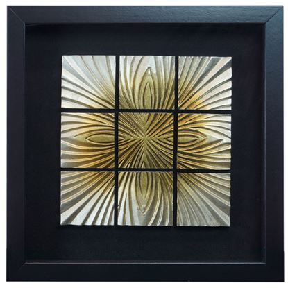 """Picture of Zen Sand Wall Décor (MS24636B) 15.75"""" L x 15.75"""" H"""