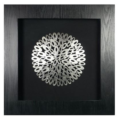 """Picture of Harmony of Geometry Shadow Box Wall Décor (MS19468B) 23.62"""" L x 23.62"""" H"""