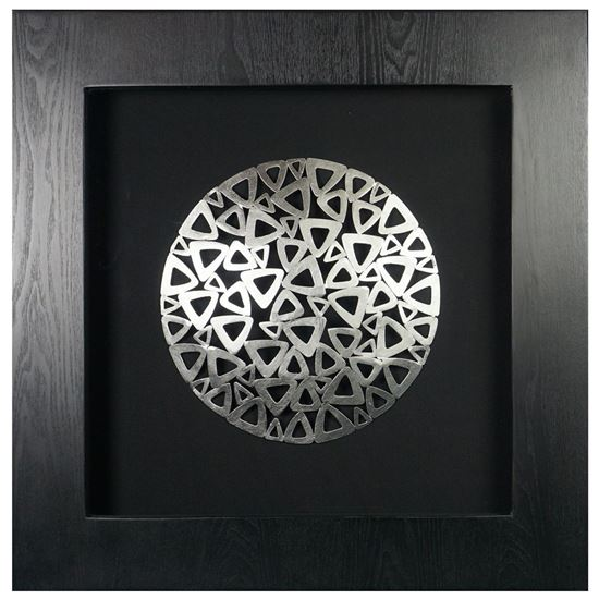 """Picture of Harmony of Geometry Shadow Box Wall Décor (MS19468C) 23.62"""" L x 23.62"""" H"""