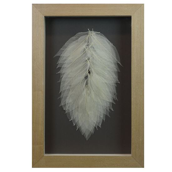 """Picture of A Leaf of Leaves Shadow Box Wall Décor (MS35892) 17.72"""" L x 25.98"""" H"""