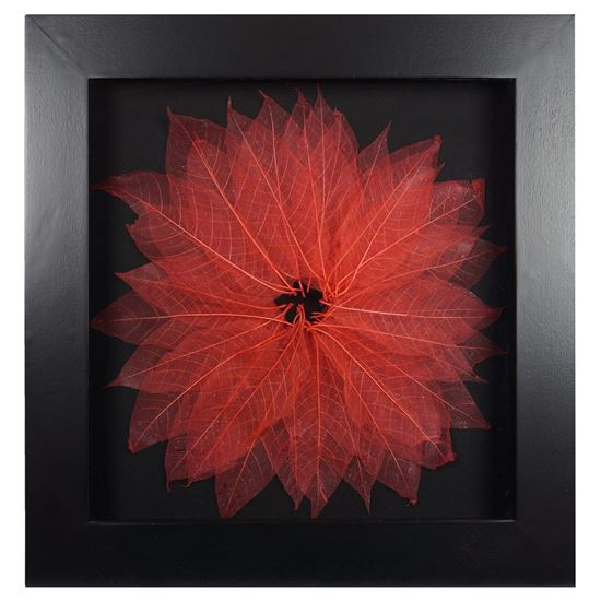 """Picture of Tree Leaves Blossom Shadow Box Wall Décor (MS12070E) 27.56"""" L x 27.56"""" H"""