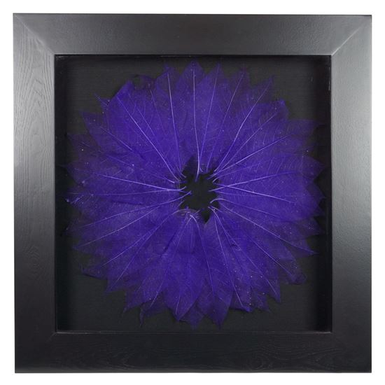 """Picture of Tree Leaves Blossom Shadow Box Wall Décor (MS12070F) 27.56"""" L x 27.56"""" H"""