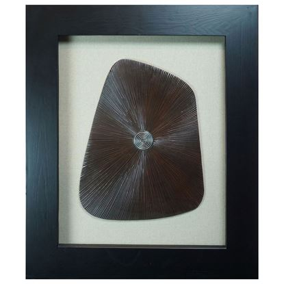 """Picture of Abstract Geometry Shadow Box Wall Décor (MS8957A) 28.35"""" L x 34.25"""" H"""