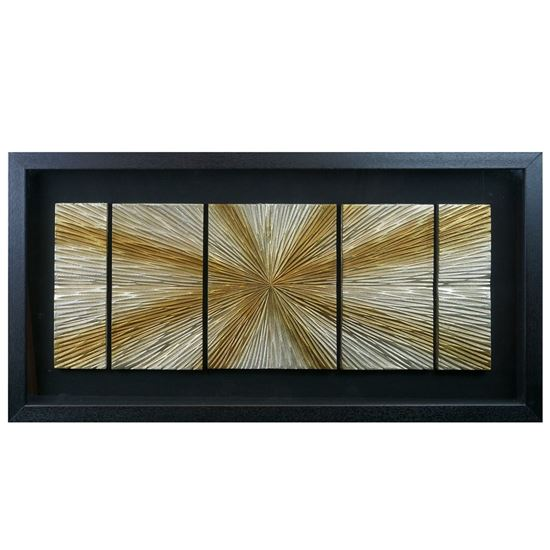 """Picture of Sunlight Shadow Box Wall Décor (MS22583A) 31.50"""" L x 15.75"""" H"""
