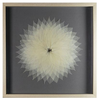 """Picture of Magnolia Tree Leaves Blossom Shadow Box Wall Décor (MS35821B) 23.62"""" L x 23.62"""" H"""