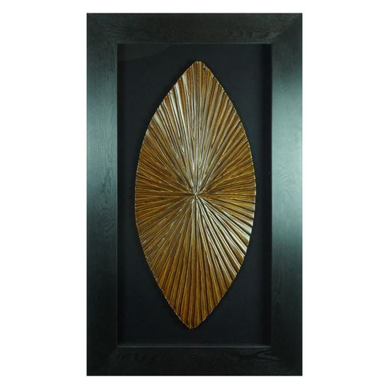 """Picture of Tribal Shield Shadow Box Wall Décor (MS9595) 27.56"""" L x 47.24"""" H"""
