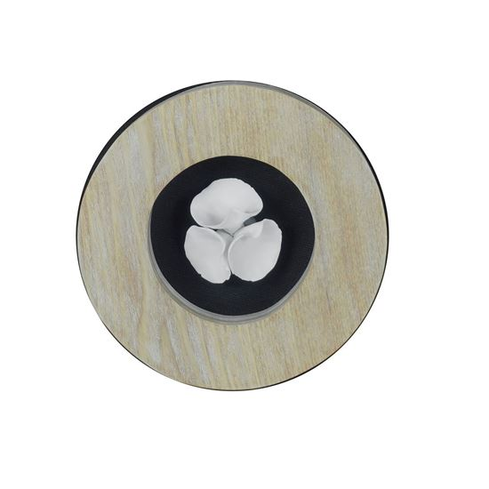 """Picture of Ceramic Flower Wall Decor (MS35791A) 7.09"""" x 7.09"""""""