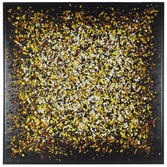 """Picture of Wood Shavings on Canvas Wall Décor  (MS36253) 47.24"""" x 47.24"""""""