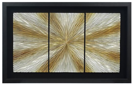 """Picture of Sunlight Shadow Box Wall Décor  (MS38571B) 19.69"""" x 31.50"""""""