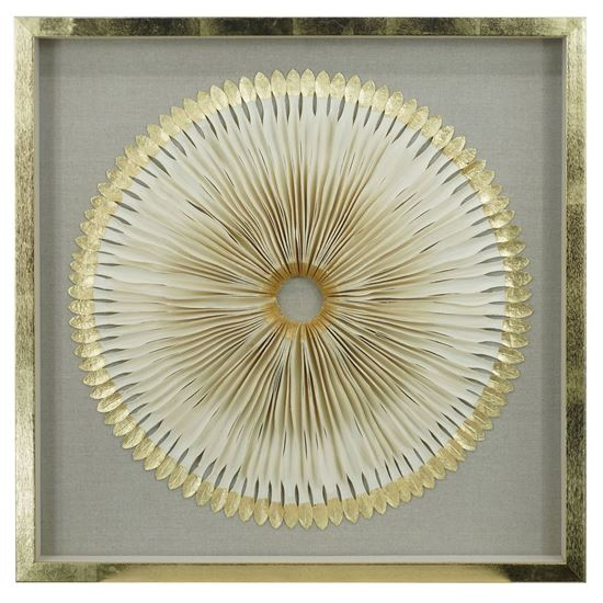 """Picture of Abstract Paper Quilling Art Shadow Box Wall Decor (MS45972) 31.50"""" x 31.50"""""""