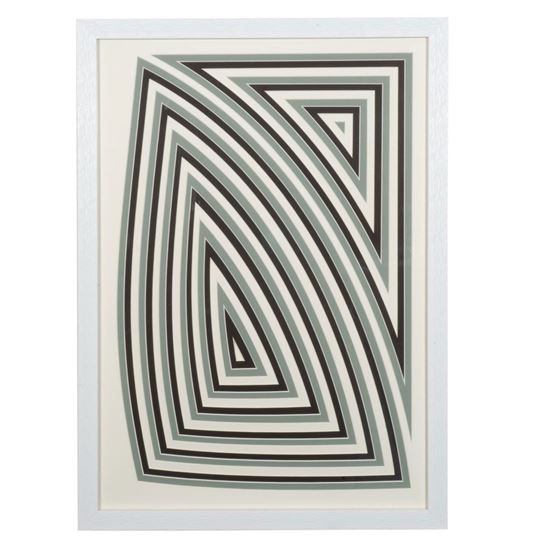 """Picture of Multi-layered Geometry Art Shadow Box Wall Décor (MS55910A) 31.89"""" L x 24.02"""" H"""